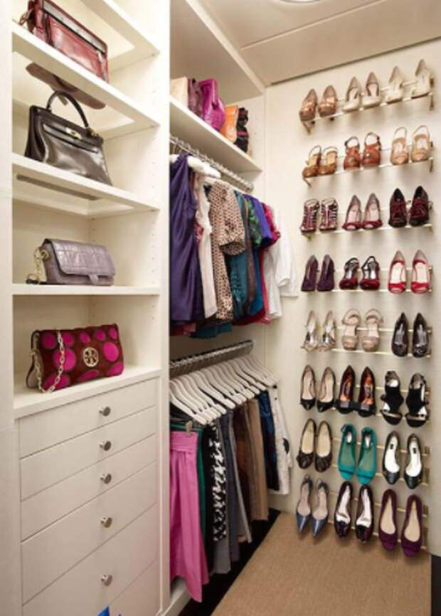 Обустройство гардеробной: 10 самых важных моментов