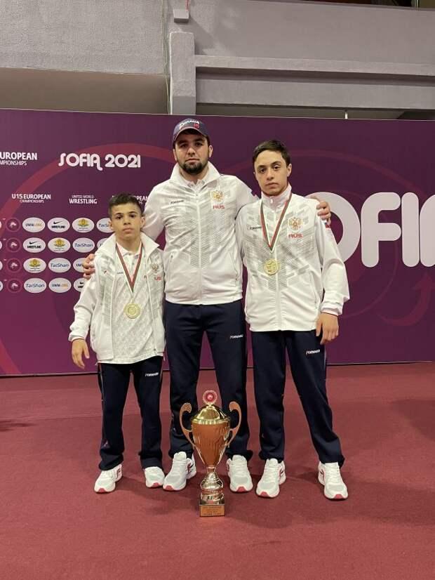 Борцы из Бескудникова стали золотыми медалистами первенства Европы