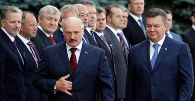 «Слабый Янукович» и «сильный Лукашенко»
