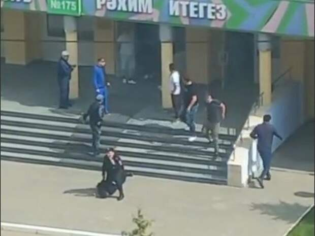 У Росгвардии пока нет данных о возможном пособнике напавшего на школу в Казани