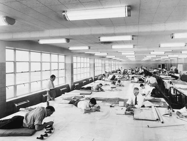 19 крутых винтажных фото о том, как работали до появления AutoCAD