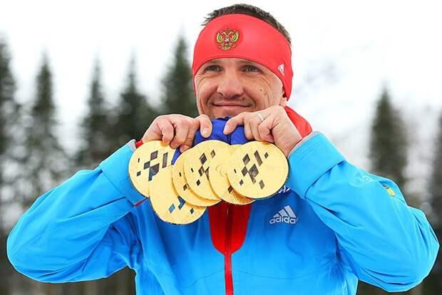 Роман Петушков: лыжные гонки и биатлон (сидя).