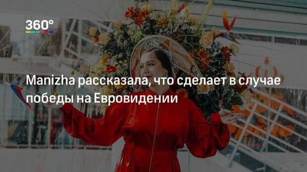Manizha рассказала, что сделает в случае победы на Евровидении