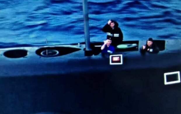 Российские подводники «поприветствовали» американский противолодочный самолёт