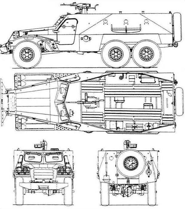 Настоящий боевой автобус. БТР-152