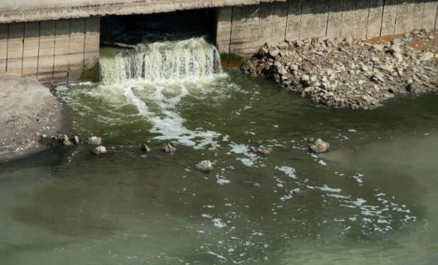 Администрацию Краснодара оштрафовали за сброс сточных вод в Кубань