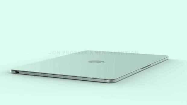 Инсайдер показал как будет выглядеть следующий MacBook Air с расцветками, как у нового iMac