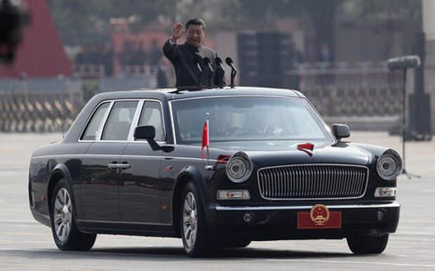Новый лимузин китайского лидера: 6-литровый V12
