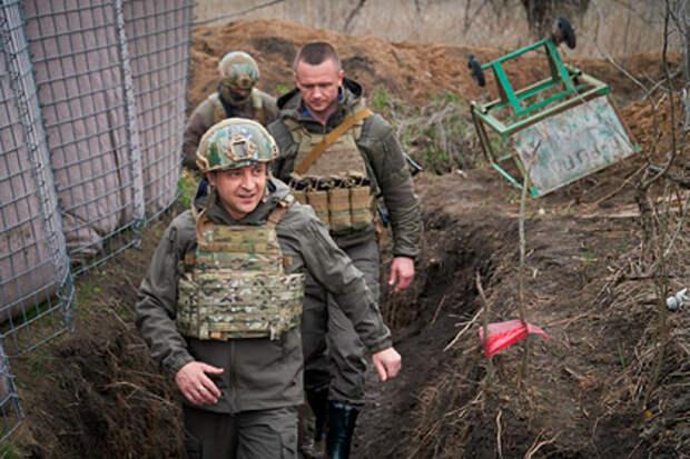 Зеленский заявил о необходимости перемирия в Донбассе