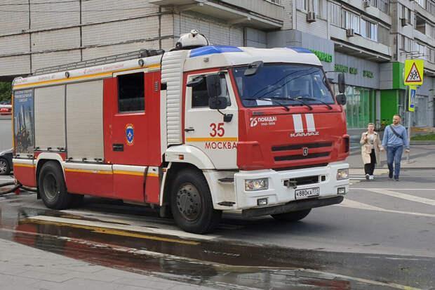 Взрыв произошёл в жилом доме в центре Москвы