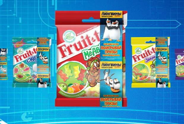 Агентства Vizeum и AdWatch Isobar реализовали промоакцию для бренда Fruit-tella