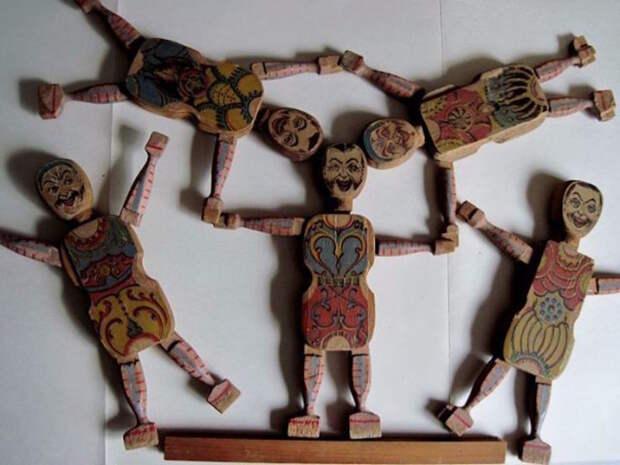 Акробаты CRANDALL, 1867 год дети, игрушки, ностальгия