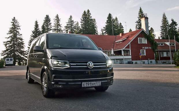 Отпуск за рулем – на минивэне Volkswagen Multivan в Финляндию