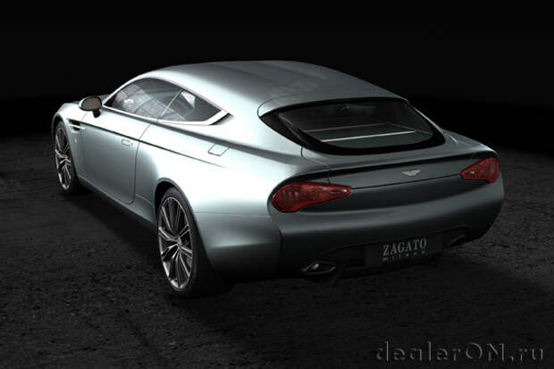 Представлен Aston Martin Virage Shooting Brake Zagato [Фотогалерея]
