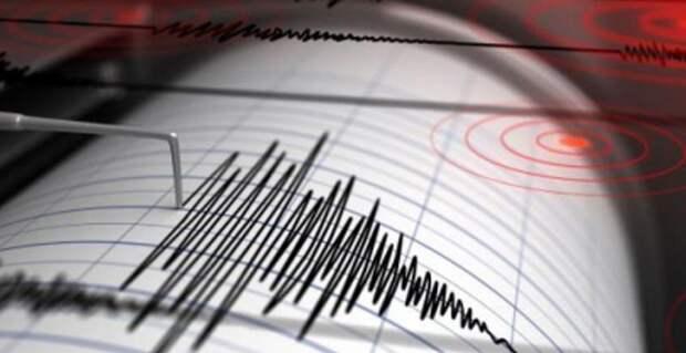 Землетрясение магнитудой 4,9 произошло на границе Казахстана и Китая