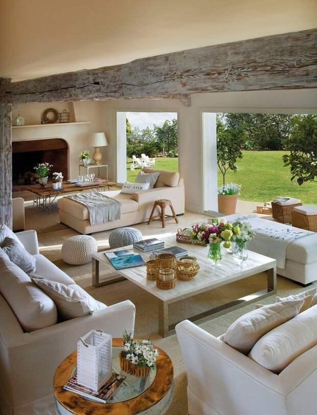 Секреты домашнего уюта: учимся у прекрасного светлого дома в Испании