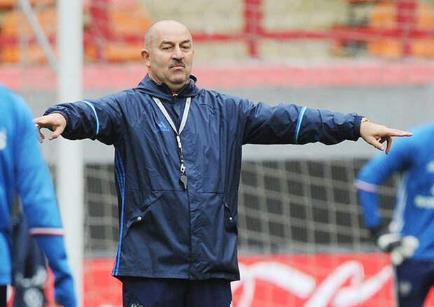 Станислав Черчесов сформулировал задачу сборной в Лиге наций