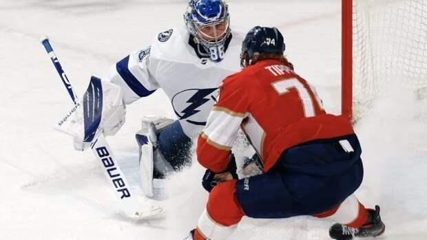 Три очка Кучерова принесли «Тампе» победу над «Флоридой» впервом матче плей-офф НХЛ