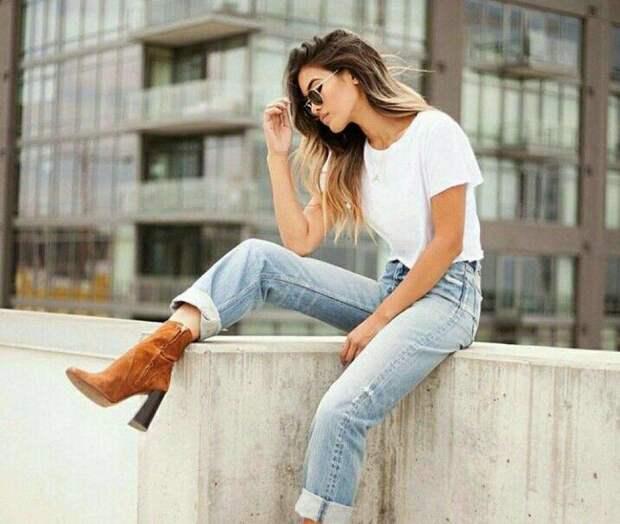 Какие джинсы не советуют для невысоких из-за того, что они портят их фигуру
