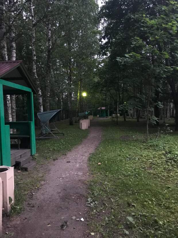 Парк во дворе. Фото автора