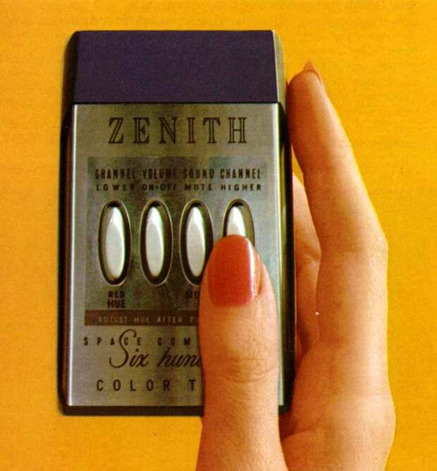 Еще один пульт на пути к сегодняшним аналогам. /Фото: flashbak.com