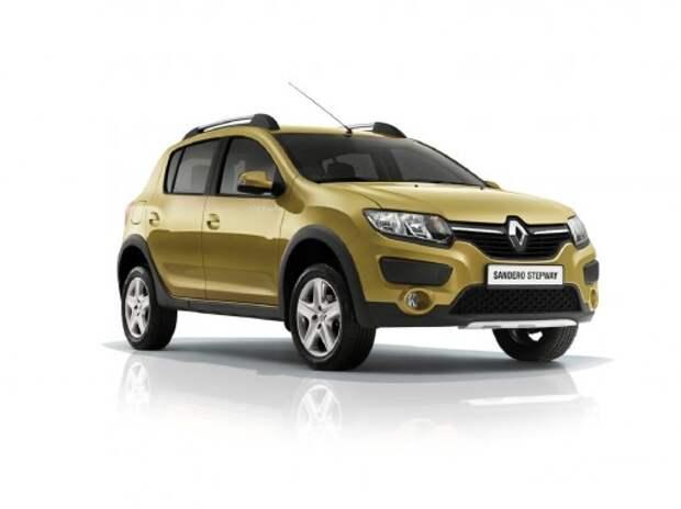 Renault предложит «внедорожный» Sandero за 485 тыс. рублей