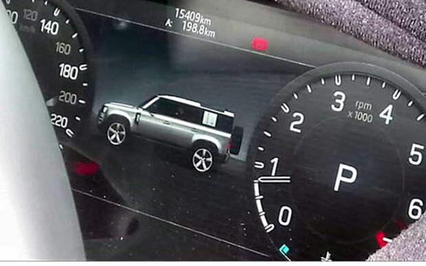 Первое фото: Land Rover Defender раскрыл себя сам