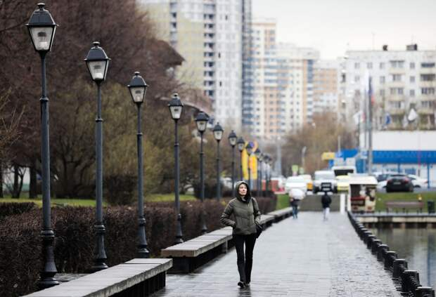 Холодный циклон погрузит Москву в «барическую яму»