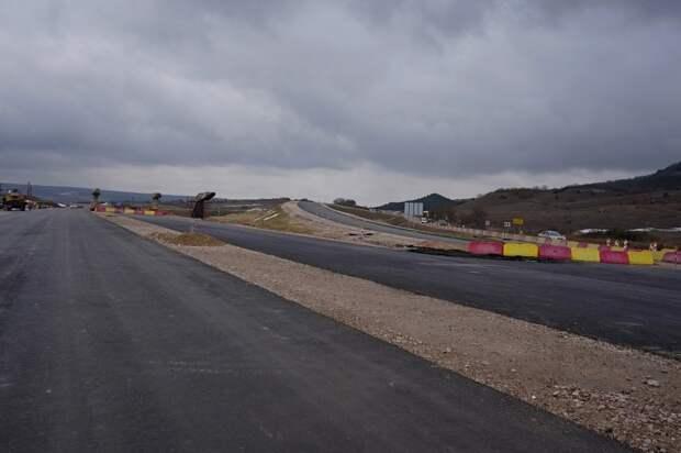 Строительство трассы «Таврида» в Севастополе закончат в 2023 году