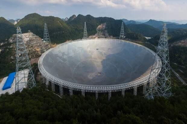 Самый большой в мире телескоп впервые обнаружил внегалактический водород