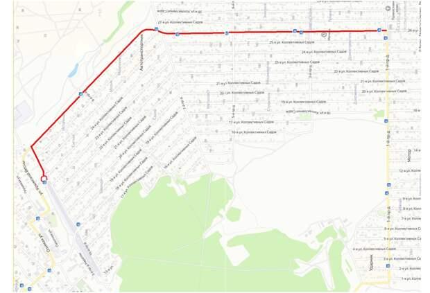 В Симферополе впервые включат освещение дороги  микрорайона Каменский массив