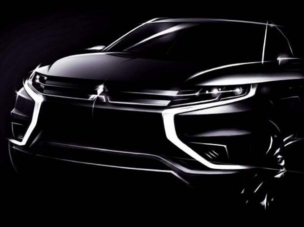 Mitsubishi везет в Париж новый Outlander PHEV