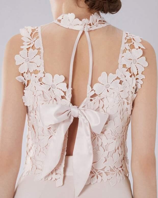 Идеи изумительных спинок для платьев 0