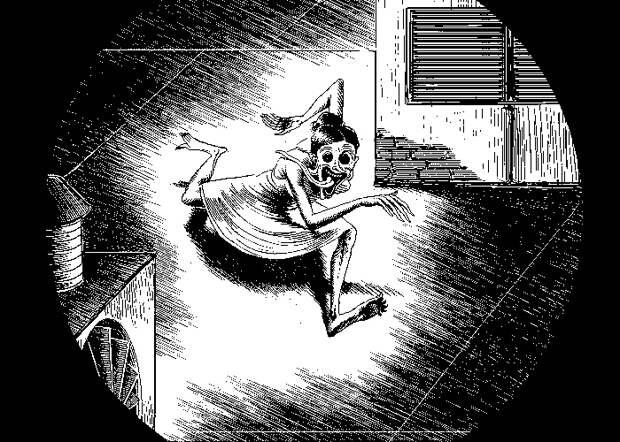 13 пиксельных картинок из твоих кошмаров от художника Уно Моралеса