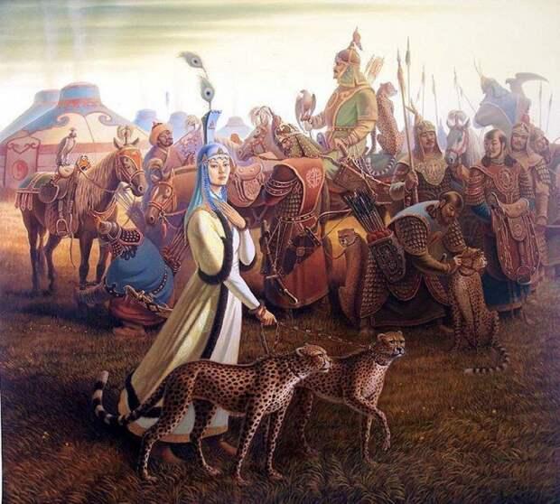 Монголки боровшиеся с маньчжурским игом